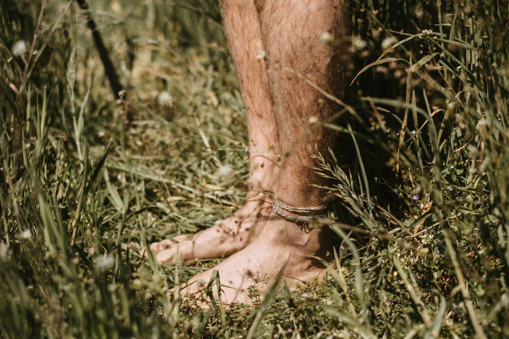 Blote voeten Natuurcamping Klein Schoor