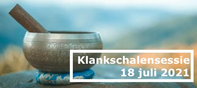 Klankschalensessie Camping Klein Schoor